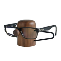 Dot Aarhus Nosey Eyewear Holder - Walnut + Black