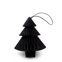 Black Paper Tree  Ornament