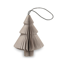 Nude Grey Paper Tree Ornament