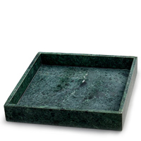 Green Marble Tray 30x30cm