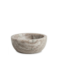 Brown Marble Bowl 10x4cm