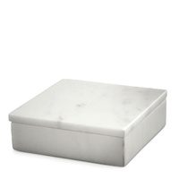 White Marble Box Small