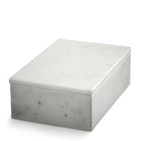 White Marble Box Large