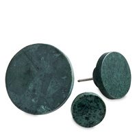 Green Marble Coat Hook Medium D6cm