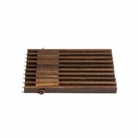 by Wirth Table Frame Trivet - Smoked Oak