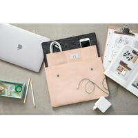 by Wirth Carry My Laptop - Nature Leather