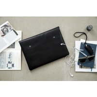 by Wirth Carry My Laptop - Black Leather