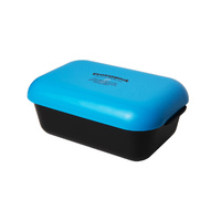 Frozzypack lunch box - black box/turquoise lid