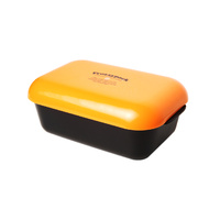 Frozzypack lunch box - black box/orange lid