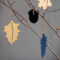 by Wirth Hang on Acorn Ornament - Metal Blue