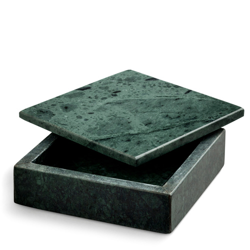 ONLY 1 LEFT IN STOCK! Green Marble Box Small