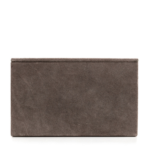 Suede Box Large Grey