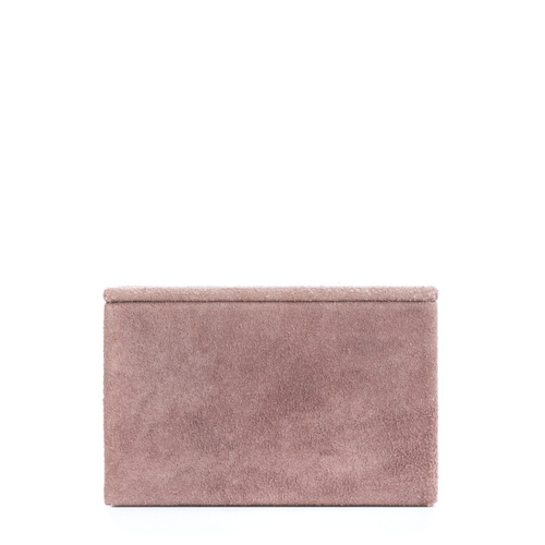 Suede Box Medium Pale Rose