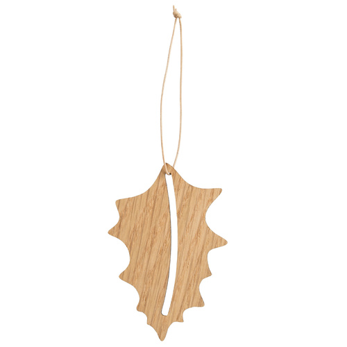 by Wirth Hang on Holly Ornament - Nature Oak