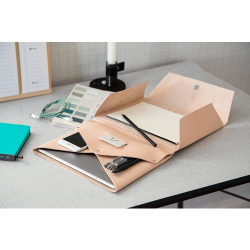 by Wirth Carry My iPad Case - Natural Leather